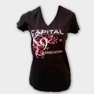 Ladies swirl tee